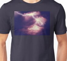 Storm Clouds and Lightning 3 Unisex T-Shirt
