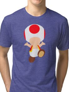 Toad (Red) Tri-blend T-Shirt