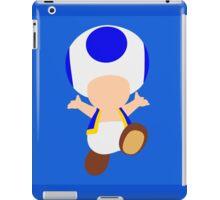 Toad (Blue) iPad Case/Skin