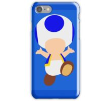 Toad (Blue) iPhone Case/Skin