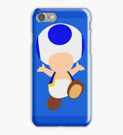 Toad (Blue) iPhone Case/Skin