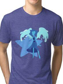 Lapis Lazuli (Dark Blue) Tri-blend T-Shirt