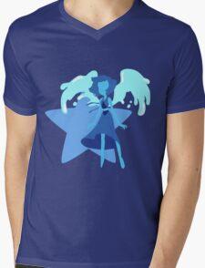 Lapis Lazuli (Light Blue) Mens V-Neck T-Shirt