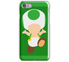 Toad (Green) iPhone Case/Skin