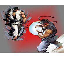 Ryu from Street Fighter Photographic Print