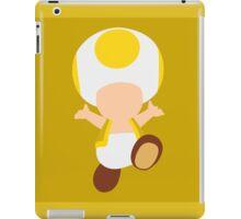 Toad (Yellow) iPad Case/Skin