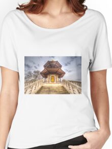 The Pagoda Battersea Park London Women's Relaxed Fit T-Shirt