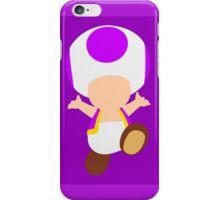 Toad (Purple) iPhone Case/Skin