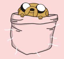 Pocket Jake (Adventure Time) One Piece - Long Sleeve