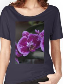 orchid in the garden Women's Relaxed Fit T-Shirt
