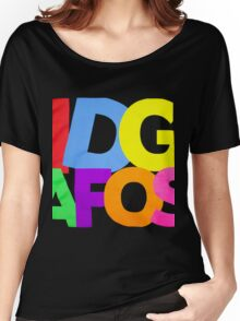 IDGAFOS Dillon Francis Women's Relaxed Fit T-Shirt