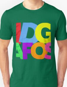 IDGAFOS Dillon Francis Unisex T-Shirt