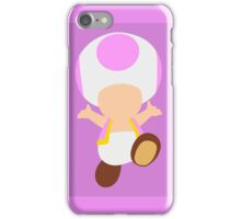 Toad (Pink) iPhone Case/Skin