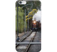 Steam rail K153 approaching Wattle Glen 20150830 0232 iPhone Case/Skin