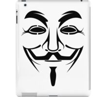 Anonymous Guy Fawkes Protest V For Vendetta iPad Case/Skin