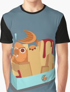 Fish N Chips Graphic T-Shirt