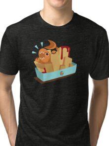 Fish N Chips Tri-blend T-Shirt