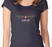 TEAM CAP Women's Fitted Scoop T-Shirt