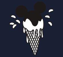 B&W Mickey Icecream Splash One Piece - Short Sleeve