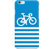 Blue Simple Bike iPhone Case/Skin