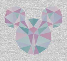 Crystal Mouse Kids Tee
