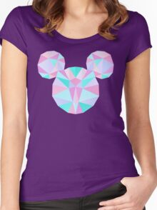 Crystal Mouse Women's Fitted Scoop T-Shirt