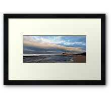 Bamburgh Castle Pano Framed Print