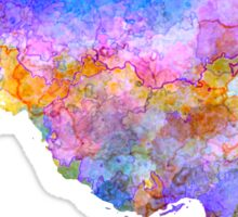 Iran in watercolor Sticker