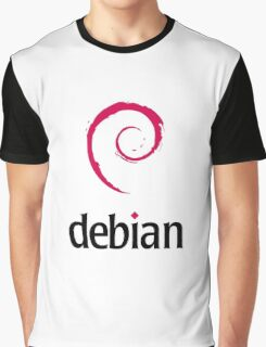 Debian Linux Graphic T-Shirt