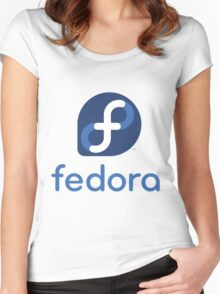 FEDORA Women's Fitted Scoop T-Shirt