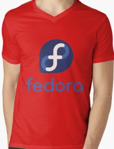 FEDORA Mens V-Neck T-Shirt
