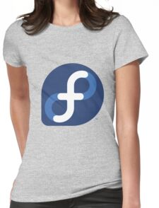 FEDORA LINUX Womens Fitted T-Shirt