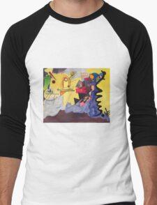 Kandinsky Reprise Men's Baseball ¾ T-Shirt