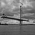Queensferry Crossing by Doug Cook