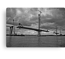 Queensferry Crossing Canvas Print