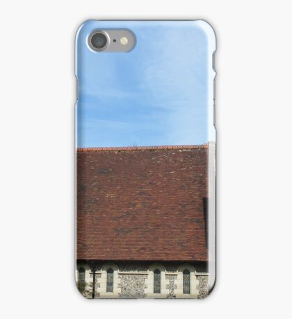 """Further along the Southdowns way we come to Graffham"" iPhone Case/Skin"