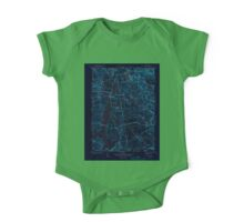 USGS TOPO Map Rhode Island RI North Scituate 353434 1943 31680 Inverted One Piece - Short Sleeve