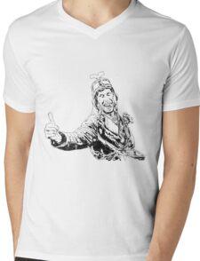 Gyro Captain Mens V-Neck T-Shirt