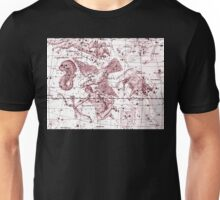 Astrology in Red Unisex T-Shirt