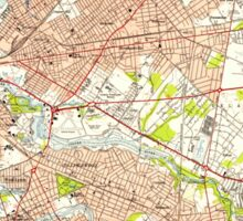 USGS TOPO Map New Jersey NJ Camden 254234 1949 24000 Sticker