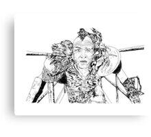 Wez Canvas Print