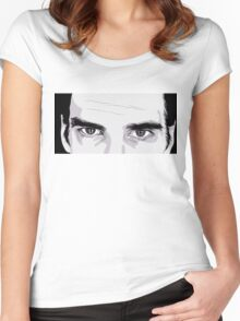 Nick Cave Portrait Women's Fitted Scoop T-Shirt