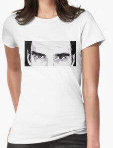 Nick Cave Portrait Womens Fitted T-Shirt