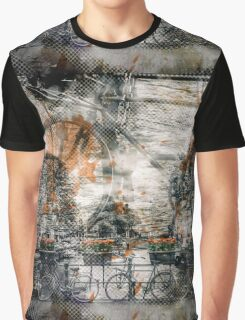 City-Art AMSTERDAM Bicycles  Graphic T-Shirt