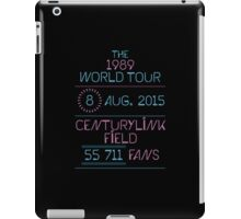 8th August - CenturyLink Field iPad Case/Skin
