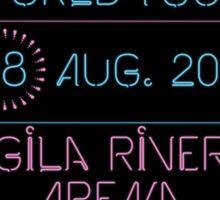 18th August - Gila River Arena Sticker