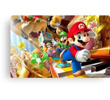 Mario vs Wario Canvas Print