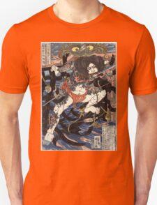 Lang Libai And Fei Zhangan - Kuniyoshi Utagawa - 1826 - woodcut Unisex T-Shirt