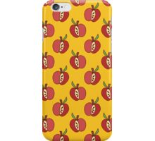 Red Apple Yellow Pattern iPhone Case/Skin