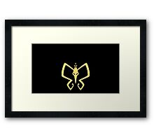 The Monarch! Framed Print